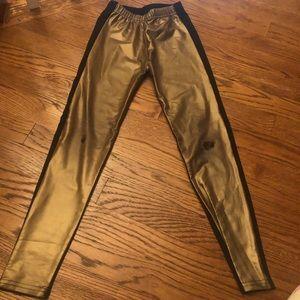 Dennys Kids Metallic leggings